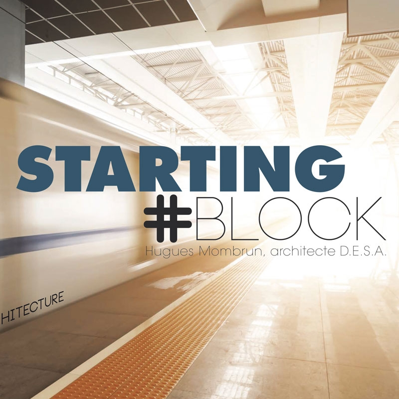 starting block agence architecture site internet